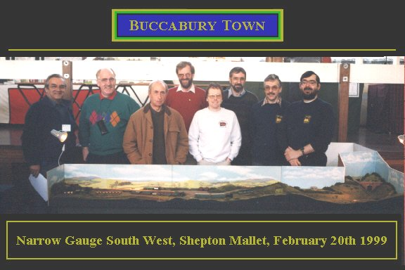Barry Emmott, Chris Ward, Bernard Pearce, Dave Cottrell, David R.Burleigh, Derek Borrow, John Gilby, Andrew Hall